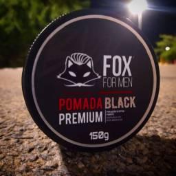 Pomada Modeladora Black da Fox for Men 150g