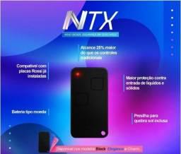 Novo controle remoto NTX portão Rossi, original lacrado