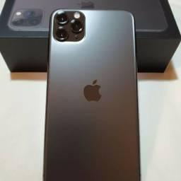 iPhone 11 pro Max cinza impecável 256gb
