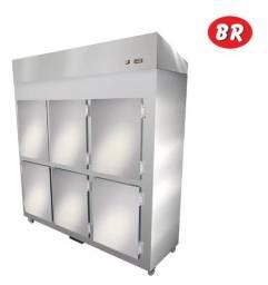 Geladeira Refrigerador Comercial 6 Portas 220V