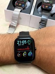 Smartwatch P8 Pro - Faz e Recebe Ligaçoes