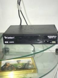 Receptor Century MidiaBox HDTV B1 com Entrada HDMI RCA e USB ? Bivol