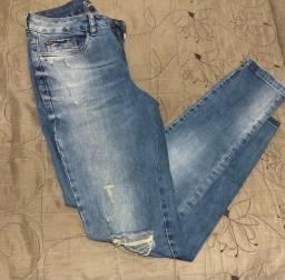 Bazar - Calça jeans Destroyed 40 Bwana