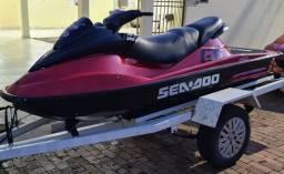 Vendo Jetski SeaDoo 2T 85hp 3 lugares