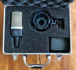 Microfone condensador Akg c214