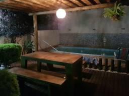 Casa com piscina portaria 24h