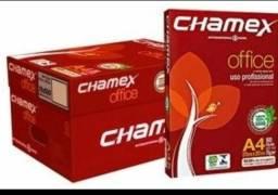 Papel Chamex A4 profissional caixa com 10 und