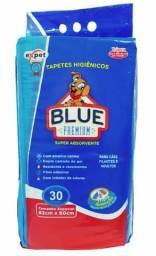 Tapete higiênico Blue Premium 82x60 com 30 unidades