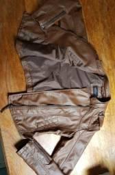 Vendo casaco shop 1one de couro/feminino
