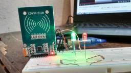 Leitor RFID-RC522 + TAG