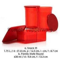 Kit importado tupperware em policarbonato