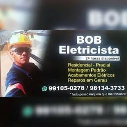 Eletricista disponível para serviços