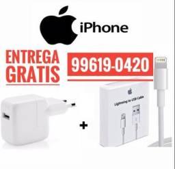 Carregador Completo iPhone Entrega Grátis