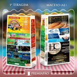 Franquia - PremiaPão - Anúncio em Sacos de Pão
