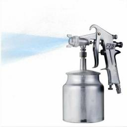 Pistola de pintura profissional f75 caneca 750ml