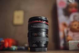 Lente Canon Ef 24-105mm F/4l Is Cheiro De Nova