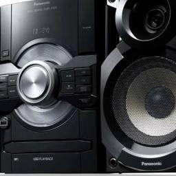 Mini System Panasonic SC-AKX80LB-K