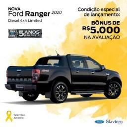 Nova Ford Ranger Limited 3.2 4x4 AT - 2020 - 0KM - Polyanne * - 2019