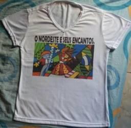 Camiseta O Nordeste E Seus Encantos