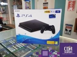 PS4 Slim 1TB com Garantia 1 ano