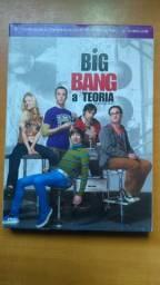 DVD Big Bang a Teoria - terceira temporada completa