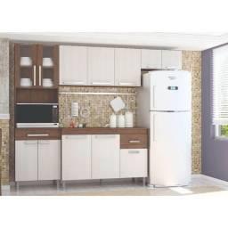 Cozinha Completa 4 Peças 12 Portas 1 Gaveta Brasil Indekes Nocce Salina