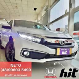 NETO - Honda Civic Touring 1.5 Turbo 2020 - 01 (Um) mil km