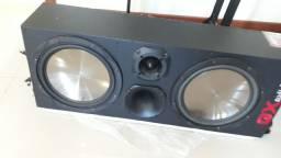 Caixa trio reta 12600 GX audio