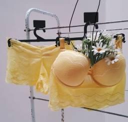 Conjuntos lingerie sutiã calcinha