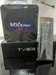 TV box 4k 32g de memória com Garantia