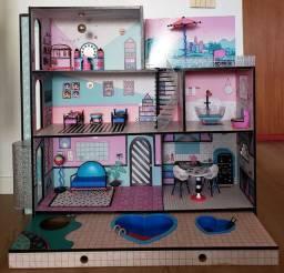 Casinha de boneca Surprise House LoL- Casa da LoL original *Imperdível*