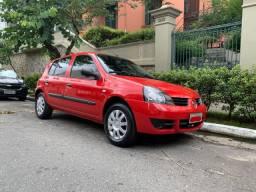 Renault Clio Campus 1.0 16V 4 portas (AC/DH/VE) - Baixa KM oportunidade!!!