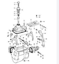 Câmbio Clarck 240F (4 marchas) - C10 D10 D20 F100 F1000 F4000