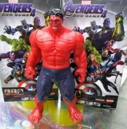 Incrível Hulk Vermelho