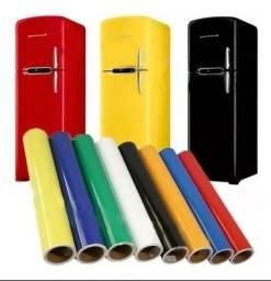 Adesivo Envelopamento e geladeira, fogão, máquina de lavar etc