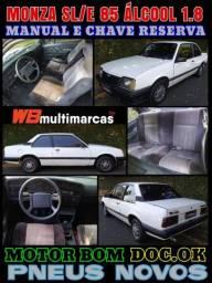 Barato Monza SL/E 85 Álcool Manual e Chave Reserva