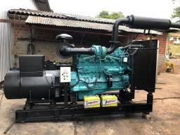 Grupo Gerador de Energia - 345 kva - Motor Cumins - Semi Novo