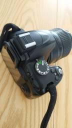 Câmera fotográfica máquina Nikon top