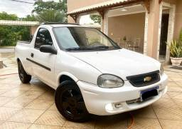 Corsa Pick-up 1.6 Documento 2020 Placa Mercosul com GNV