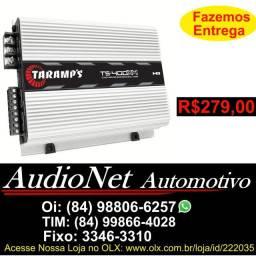 Potencia Taramps Ts400 4 Canais Modulo Digital 400W Rms Carro Som Automotivo Bob