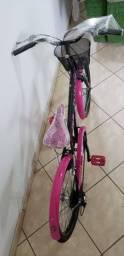 Bicicleta Caloi Feminina da Barbie