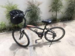 Vendo bike Caloi 500 semi nova única dona