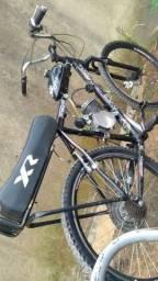 Bike motorizada top não existe igual a ela