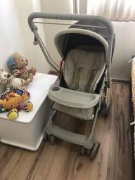 Carrinho bebê 2x1 Berco Galzerano REVERSIVEL unissex Aceito Cartao