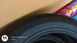 Vendo pneu aro 205/55R16 400$ os 4 pra venderogo