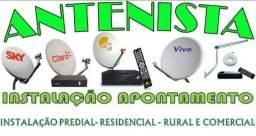 Técnico em tv por assinatura e antenista