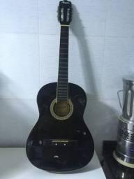 Violão Memphis, acústico Nylon + Palheta Fender Heavy