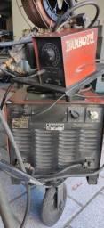 Máquina de solda MIG Bambozzi 325 Ampere 380V c/ Tocha 5m