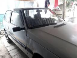 Fiat uno eletronic 1.0 cinza