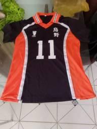 Camisa Haikyuu número 11 Novo